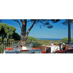 Dolce Vita Restaurant at the Villa Marie Hotel in Saint-Tropez