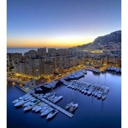 Riviera by night