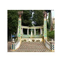 Romanciers' Garden in Menton