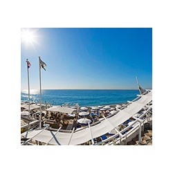 Plage Beau Rivage Private beach in Nice