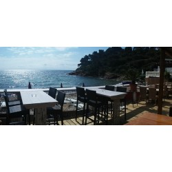Tamaris Beach and Restaurant in Le Lavandou