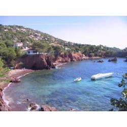 La Calanque des Anglais beach in Agay