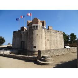 Citadelle de St Tropez and view over the sea