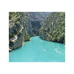 Verdon Gorge-The Gorges du Verdon Canyon in south-eastern France