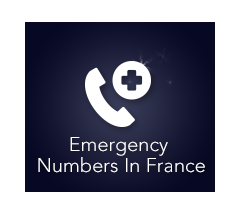 Emergency numbers in France